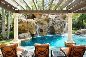 View-of-the-Arched-grotto-under-the-waterfalls-from-the-poolside-pergola